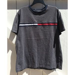 Tommy Hilfiger Embroidered Grey T-Shirt